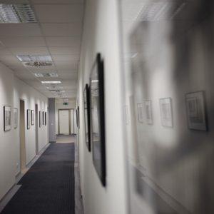 Kunst im Büro - MWS Arbeitsrecht Hamburg