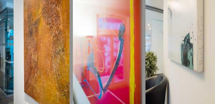 Kunst im Büro - MWS Arbeitsrecht